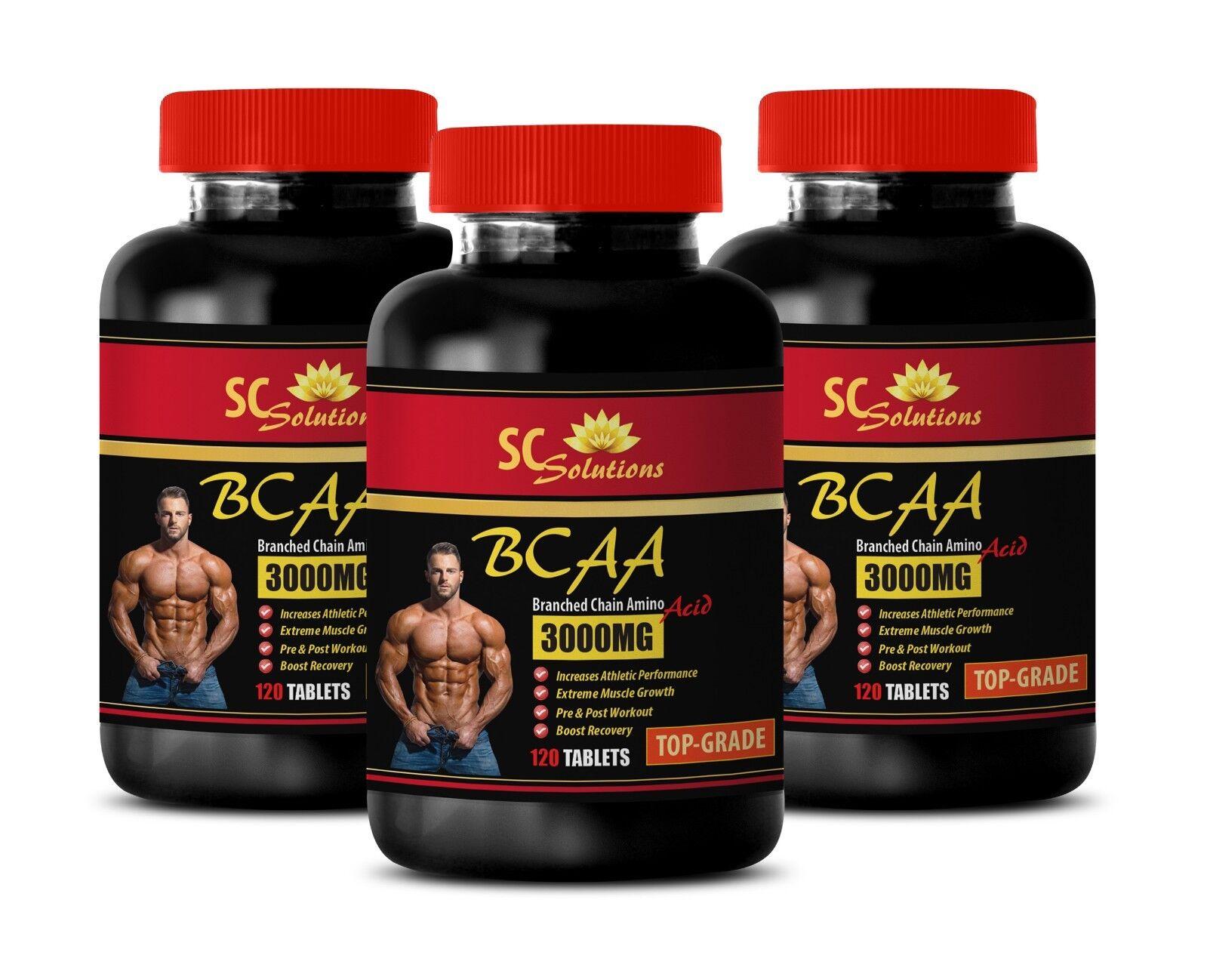 Bcaa for Damens - TOP GRADE BCAA 3000mg - L-Leucine supplement 3B