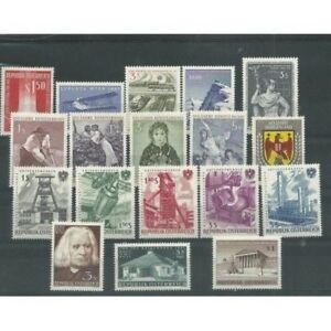 Europe Straightforward 1961 Austria Year Complete 18 Val Mnh Mf52284 Convenient To Cook