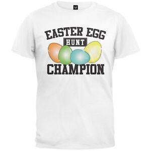 Easter egg hunt champion adult mens t shirt ebay
