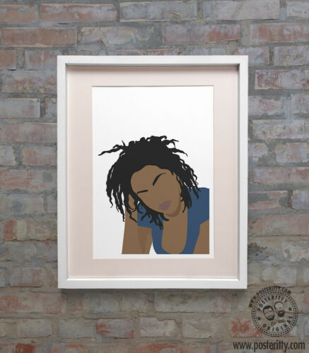 Miseducation Print Minimal Poster Posteritty Art Minimalist Fugees LAURYN HILL