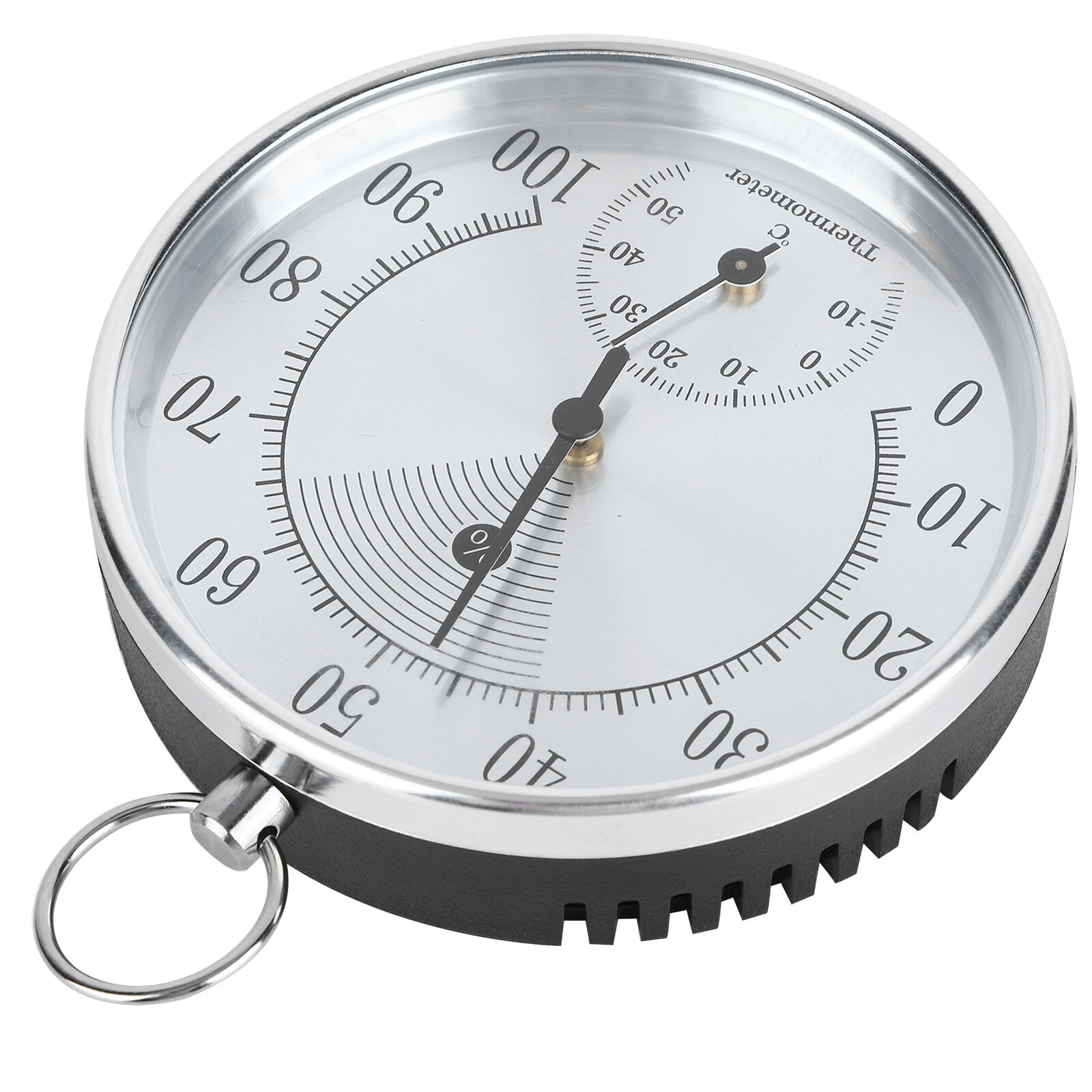 10cm Thermometer Hygrometer With Hanging For Indoor Home Warehouse Offic GS