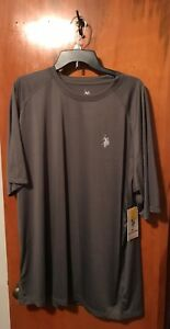 Men-039-s-U-S-Polo-Assn-Shirt-Size-3X-Color-Gray-Style-106404BS3-New-W-Tags
