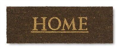 Il Migliore Rettangolare Vico Kerala Home Stile Zerbino / Floormat / Wellcomemat Brown Nuovo-mostra Il Titolo Originale