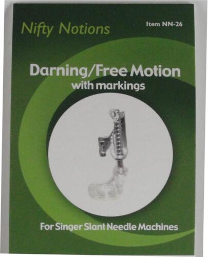 NN26 Darning Free Motion// Singer 301//401//403//404//500//503 slant needle