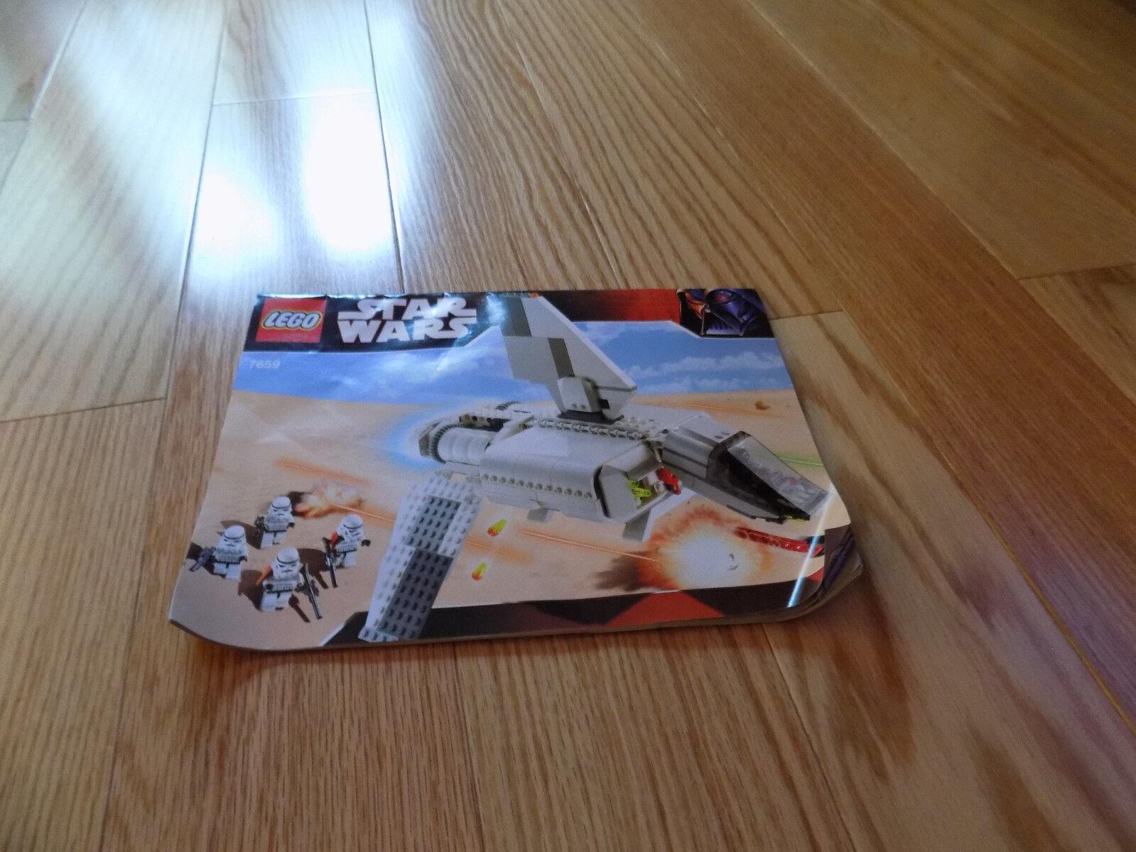 Lego Star Wars Imperial Landing Craft 7659 Ebay Yoda Kids Buildable Watch 8021032