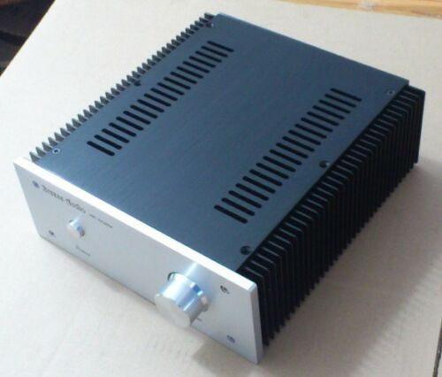 10W 1969 small class A aluminum chassis with both radiator power amplifier box
