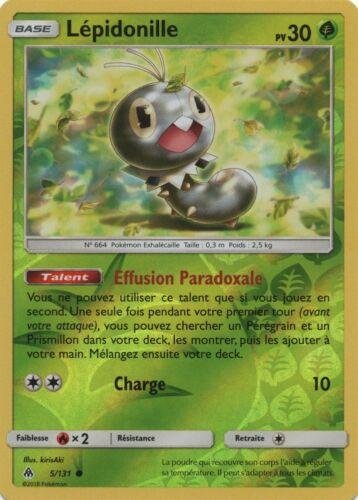Lépidonille SL6-5//131 R VF Français Reverse Pokemon