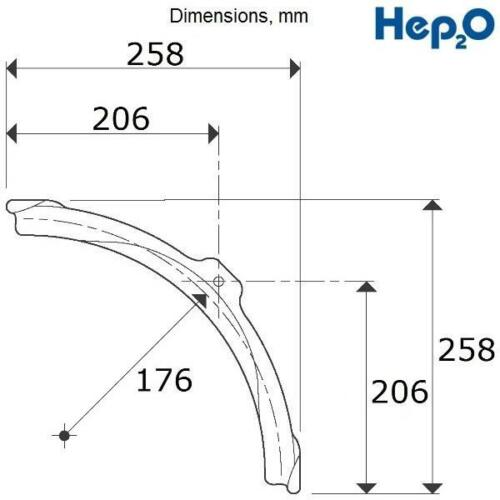 10x  15-20mm Cold Forming Bend HEP2O Grey HX 75//20GR Speedfit Bend