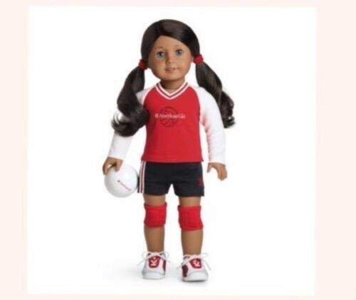American Girl Doll Red Volleyball Outfit NEW! Retired