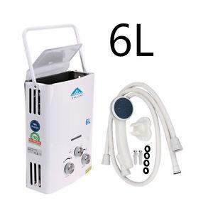 6L LPG Propan Gas Wasserkocher Warmwasser-Heizung Spülkasten Wasser ...