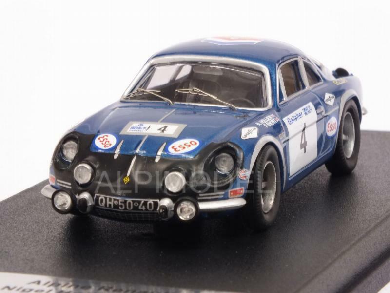 Alpine A110 Renault  Circuit of Ireland 1971 Hollier - Shor 1 43 TROFEU RRIR01  sélectionnez parmi les dernières marques comme