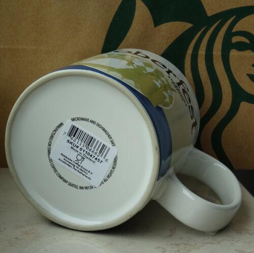 Starbucks City Mug Cup Global Icon Series Oktoberfest Germany Version 3 16oz NEW