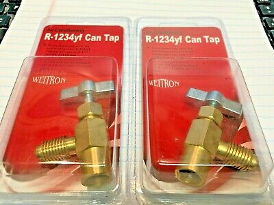 R1234yf R1234 /& R-1234yf Special Can Tap FJC 6840 Yf1234 Special Can Tap