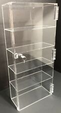 Acrylic Counter Top Display Case 12x 45 X235locking Cabinet Showcase Boxes