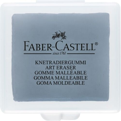 Charcoal /& pastel work 127220 Faber-Castell Kneadable Grey Eraser For Pencil