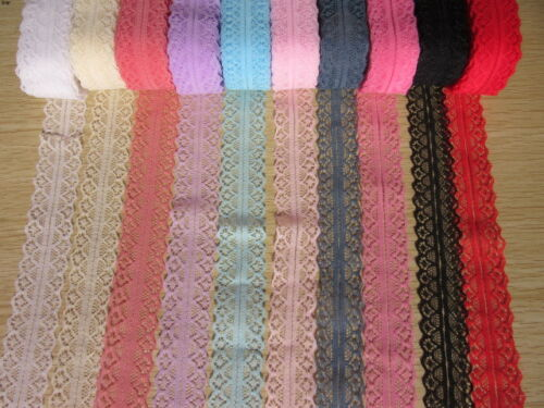 NEW 10 //400 yards 1658-2 beautiful lace ribbon embroidery crafts