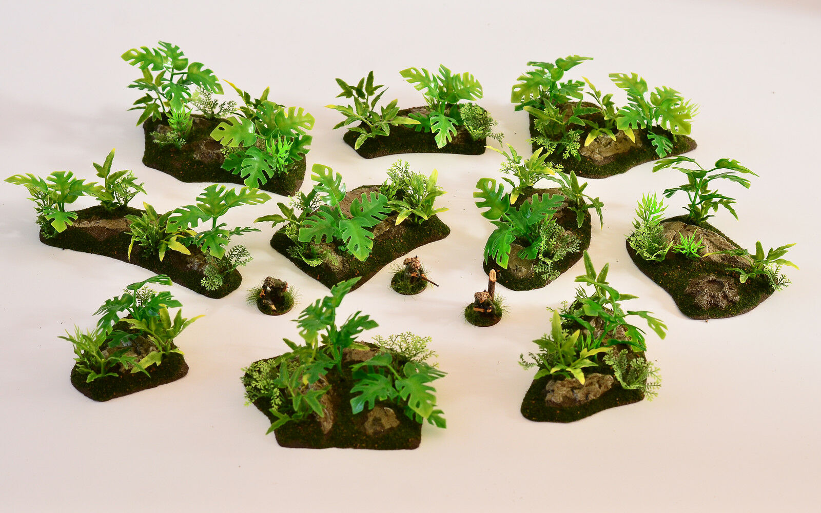 28mm Jungle Terrain (Hand made)