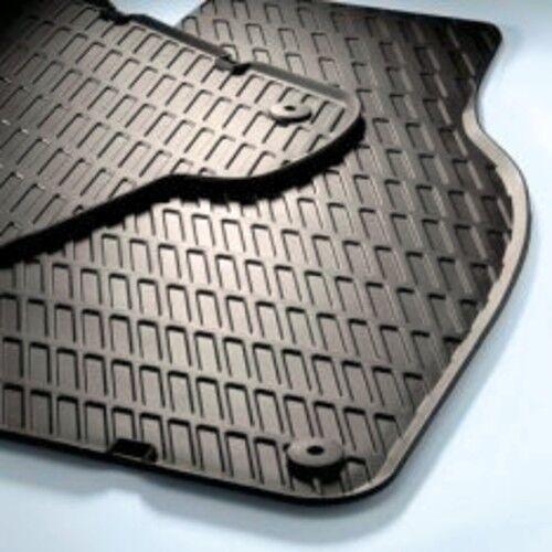 4 Black AUDI A6 S6 2007-2011 OEM 4F1-061-450-A-041 Premium Rubber Floor Mats