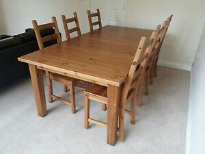 ATTRACTIVE-Dining-table-and-chairs