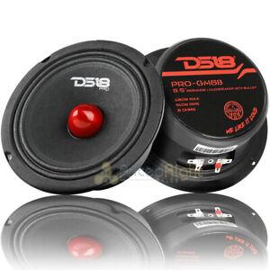 "2 DS18 PRO-GM6B 6.5"" Midrange Bullet Speakers 480 Watts Max Power 8 Ohm Speaker"