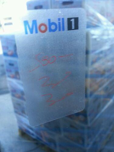 MOBIL 1 Oil Change Stickers Oil Change Sticker 4 x 6.5 cm 500  Stickers