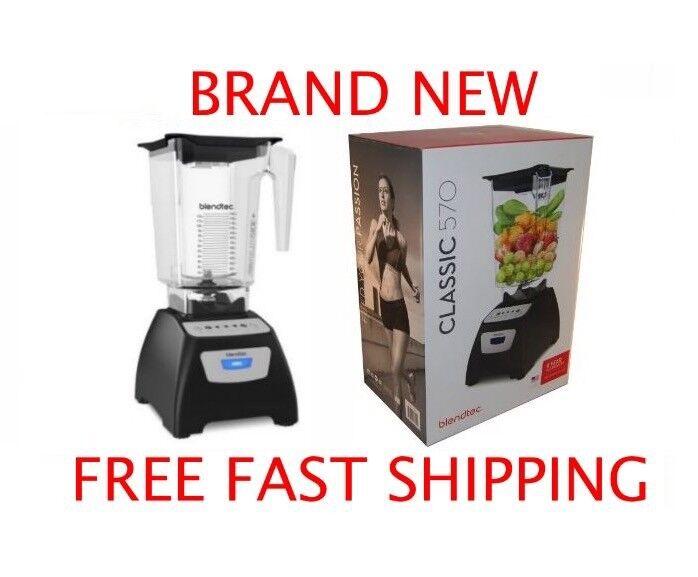 Blendtec Classic 570 Blender w  Wildside Wild Side Jar - BRAND NEW FREE SHIPPING
