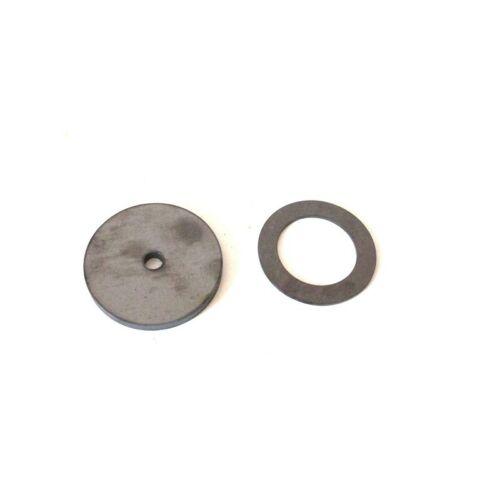 Ø 70mm gelasert Metallring Scheibe Stahlronde Ring 12mm mit Mittelloch Ø 50mm