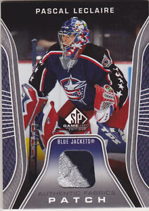 06-07-SP-Game-Used-3-Color-PATCH-Pascal-Leclaire-50-SPGU-2006