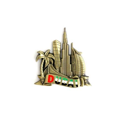 3D Metal Fridge Refrigerator Magnet Decor Holiday Souvenir Gift Budapest Miami