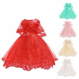 Dresses-kid-bridesmaid-princess-baby-wedding-flower-dress-girl-tutu-formal-party