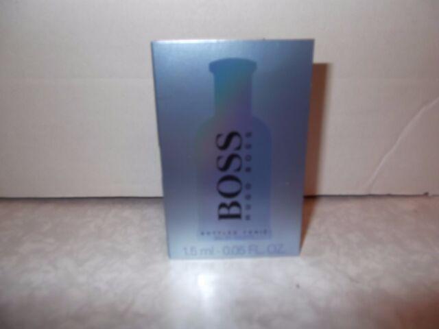 Men's Hugo Boss Bottled Tonic Eau De Toilette Sample Splash 1 x 1.5ml New