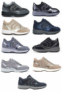 Image is loading GEOX-SCARPA-DONNA-RAGAZZA-SNEAKER-HAPPY-J9156Q-J5256B- b59db17f1cc