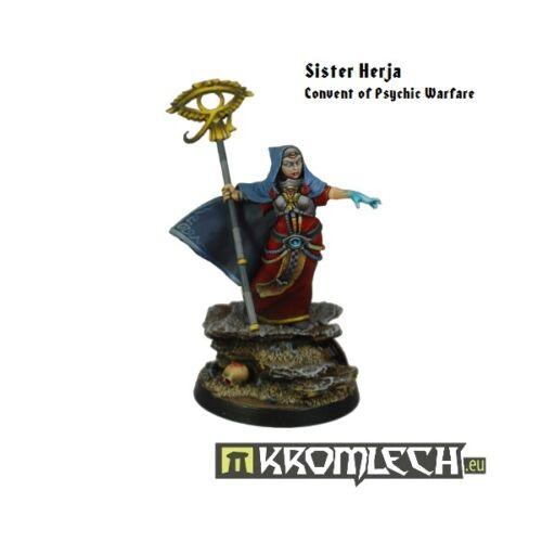 Kromlech KRM062 Sister Herja Convent of Psychic Warfare Female Human Psionic NIB