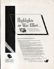 1942 UNDERWOOD ELLIOTT FISHER CO. AD- WWII AD