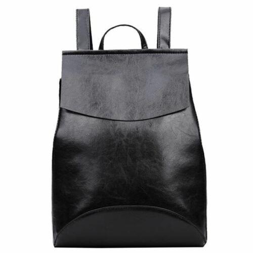 Vintage bolsos Korean Style women Leather Backpack Female Bagpack backpack water