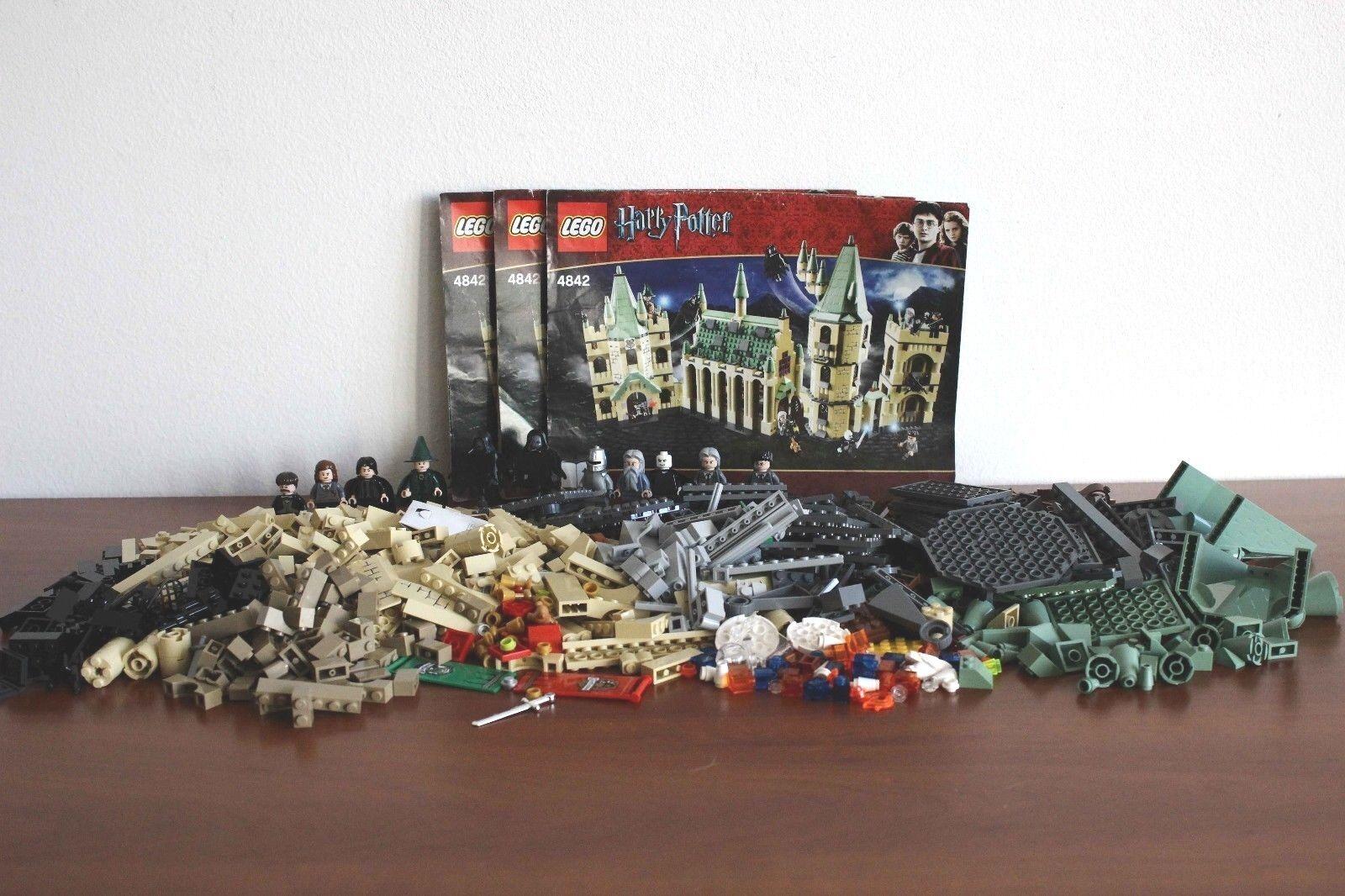 Lego Harry Potter Set 4842-1 Hogwarts Castle 100% completare +  instructions  vendita di offerte
