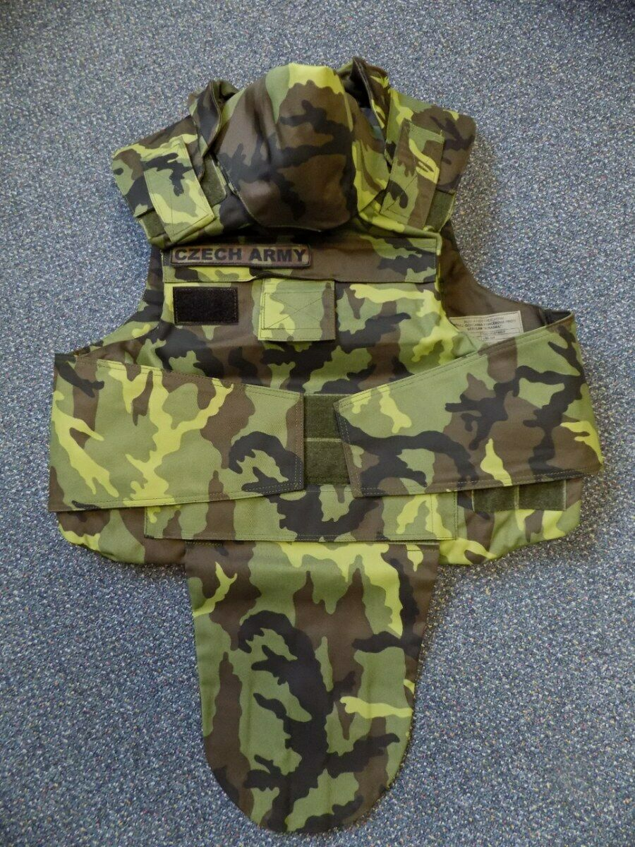 Czech Army Original Predective Vest KIRASA Vz.95 Camo Pattern  - Factory New CZ  convenient