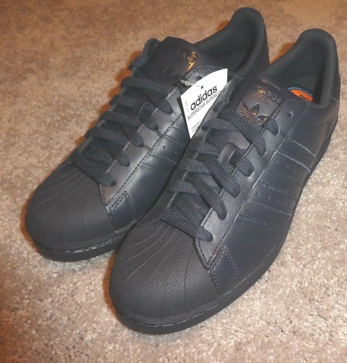 1b839959cc Adidas Superstar Shelltoe Supercolor Supercolor Supercolor shoes mens new  S83393 navy Pharrell 6ed01f