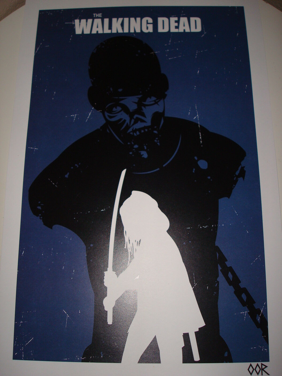 "The Walking Dead Michonne 24/"" x 36/"" poster print"