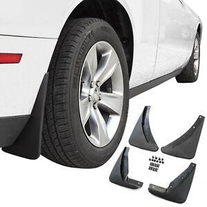 Dodge-Challenger-Mud-Flaps-2015-2018-Guards-Splash-Molded-4-Piece-Front-amp-Rear