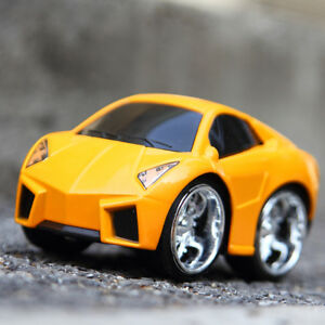 Sportscar-SUV-Pull-Back-Car-Diecast-Vehicle-Alloy-Roadster-Model-Toy-Yellow-GG
