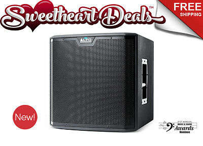 """Alto TS212S 1250W 12"""" Powered Speaker Sub Bass Event DJ PA System Subwoofer"""