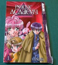 Psychik Academy Manga Vol 1 by Katsu Aki TPB GN Tokyopop