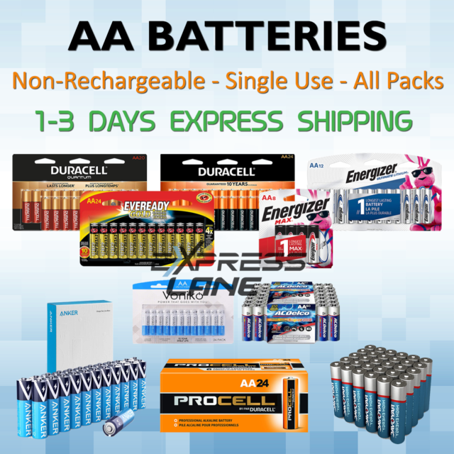 Best Aa Batteries 2021 AC Delco AA Alkaline Batteries Expire 2021 Same Day Ship for sale