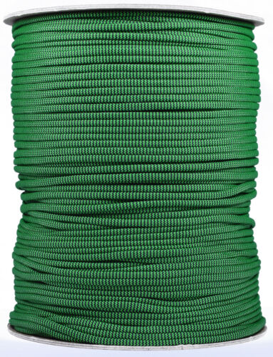 550 Paracord Rope 7 strand Parachute Cord 1000 Foot Spool Shock Wave
