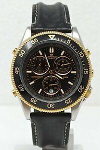 Orologio Lorenz chrono alarm watch vintage clock stile diver montre rare reloj