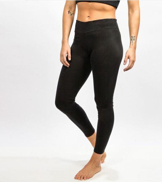 Cotton Therapy Full Length Heavy Knit Leggings Black Size Medium For Sale Online Ebay