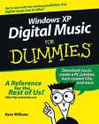 Windows XP Digital Music For Dummies by Ryan C. Williams (Paperback, 2004)