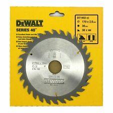 Dewalt Series 40 Circular Saw blade DT4083-QZ 160mm x 16mm bore x 48 teeth TCG
