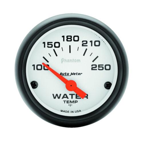 Electrical 2-1//16 in. Autometer 5737 Phantom Water Temperature Gauge